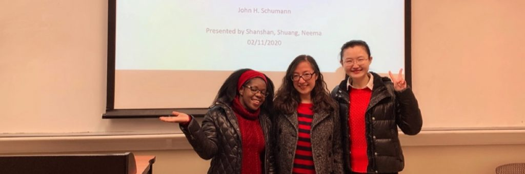 LIN 650 Seminar in Second Language Acquisition (Fall 2019). Group presentation from last day of class!