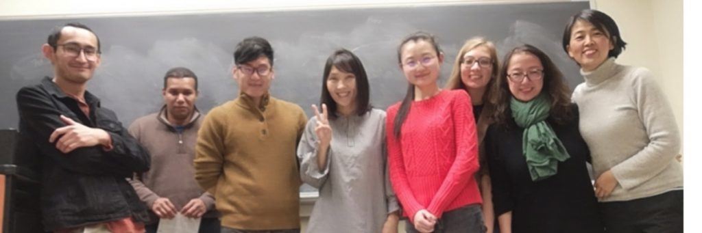 LIN 691 Quantitative Research Methods (Fall 2019). Group picture from the last day of class!