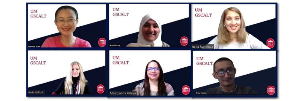 Feb. 12th, 2021. Arwa Alsindy presented at the second UM The Colloquium / GSCALT.